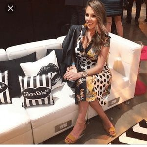 23468921d802 Zara Dresses | Floral And Polka Dot Patchwork Dress Nwt | Poshmark